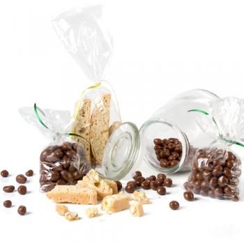 caramelera con chocolates