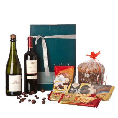 caja de navidad clásica