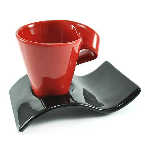 taza y plato de café