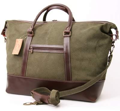 bolso de gamuza y cuero