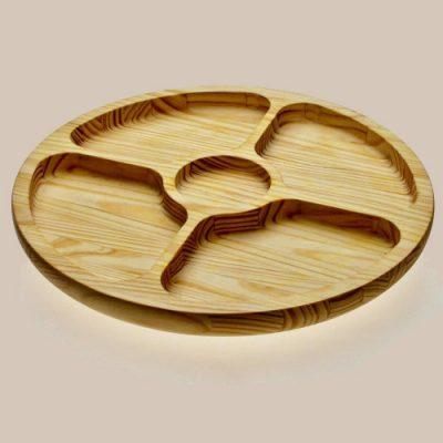 bandeja para picadas circular