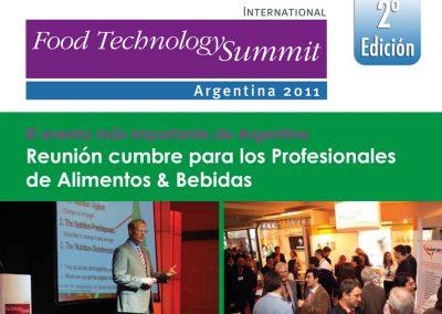Brochure para venta de Conferencias Internacionales – Sector Food Technology