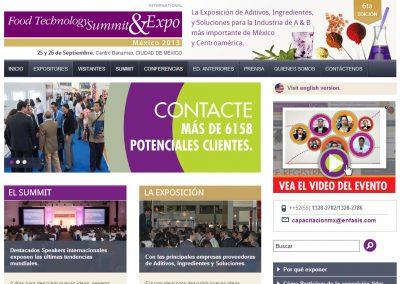 Desarrollo Web de Evento de Food Technology para México