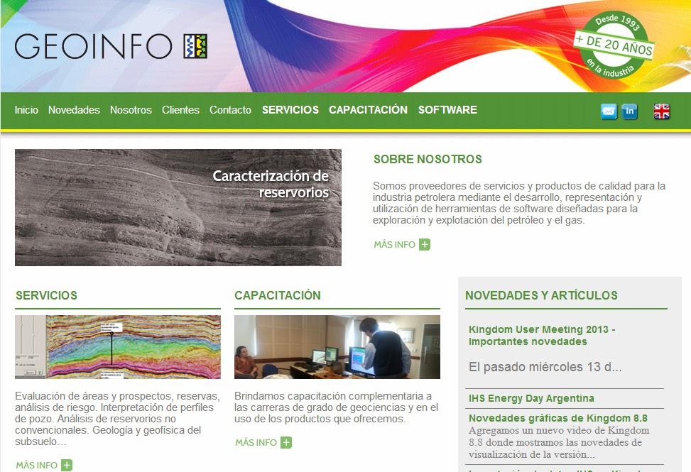 Desarrollo de nueva web para empresa proveedora de la industria de Petróleo y Gas