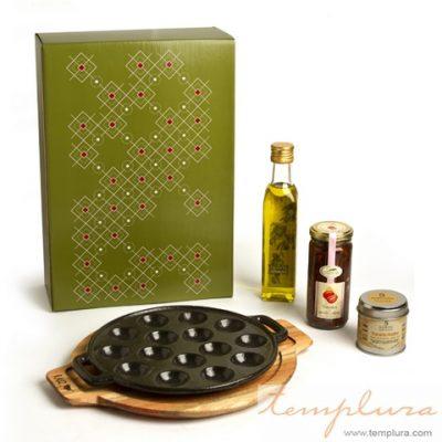 provoletera y caja gourmet
